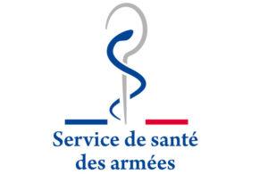 logo service de santé des armées